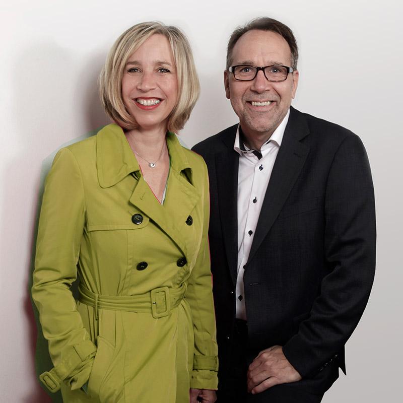 Brigitta Eilers und Alexander Raake