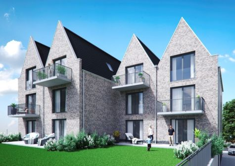 Neubau: Moderne Erdgeschoss-Wohnung mit Terrasse und ca. 150 m² Gartenanteil in zentraler Lage, 28832 Achim, Erdgeschosswohnung