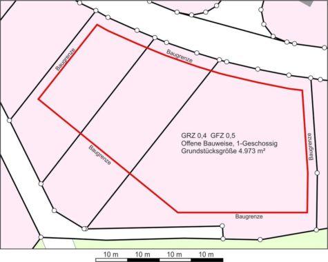 Für Bauträger: Traumlage zwischen Sommerdeich und gewachsenem Wohngebiet, 27321 Thedinghausen, Grundstück gemischt genutzt